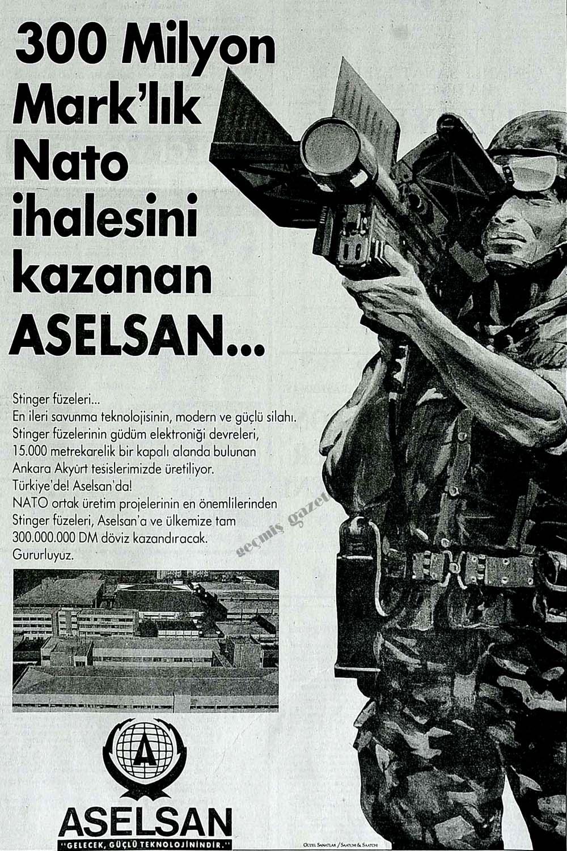 300 Milyon Mark'lık Nato ihalesini kazanan ASELSAN...