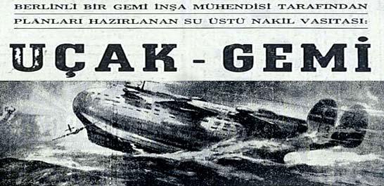 Uçak - Gemi