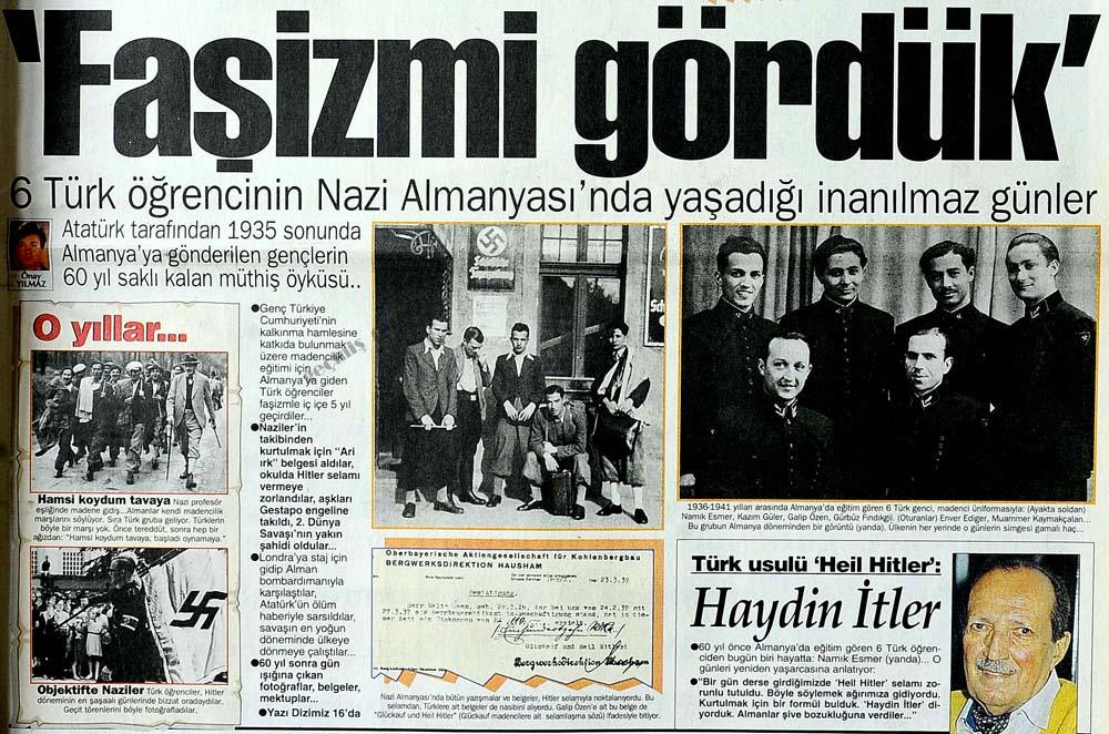 6 Türk öğrencisinin Nazi Almanya'sında yaşadığı inanılmaz günler