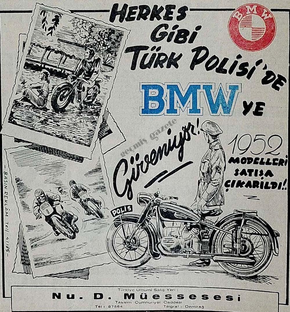 Herkes gibi Türk Polisi'de BMW ye güveniyor!