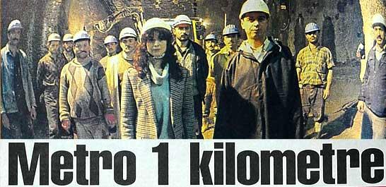 Metro 1 kilometre