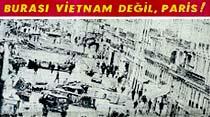 """Yüzbinlerce insan dün Paris caddelerinde """"Katil de Gaulle"""" """"Katil polis"""" diye bağırdı"""