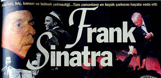 Frank Sinatra perdeyi kapattı