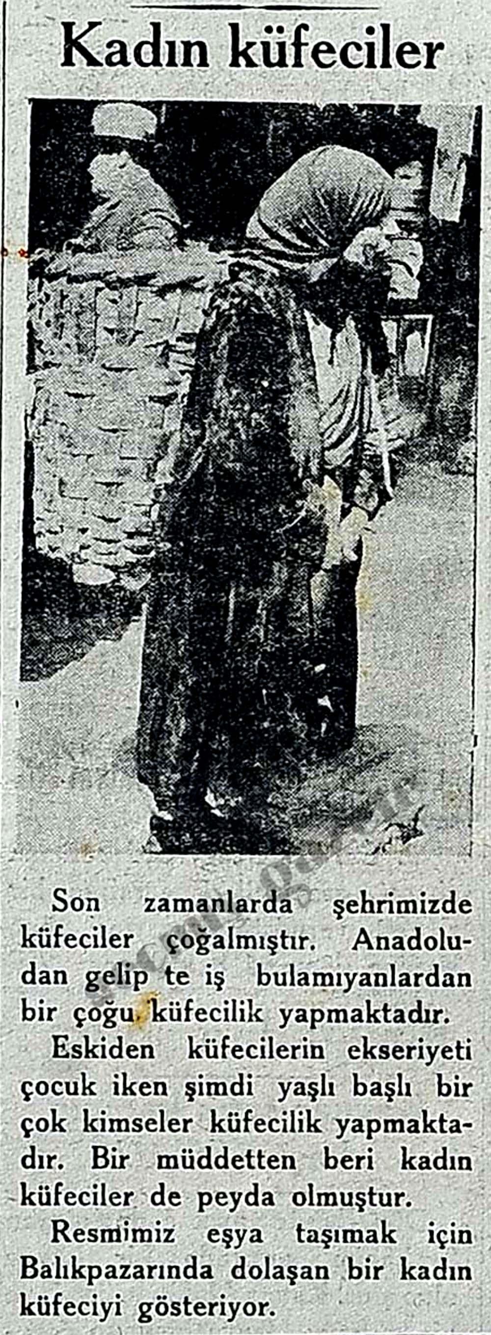 Kadın küfeciler