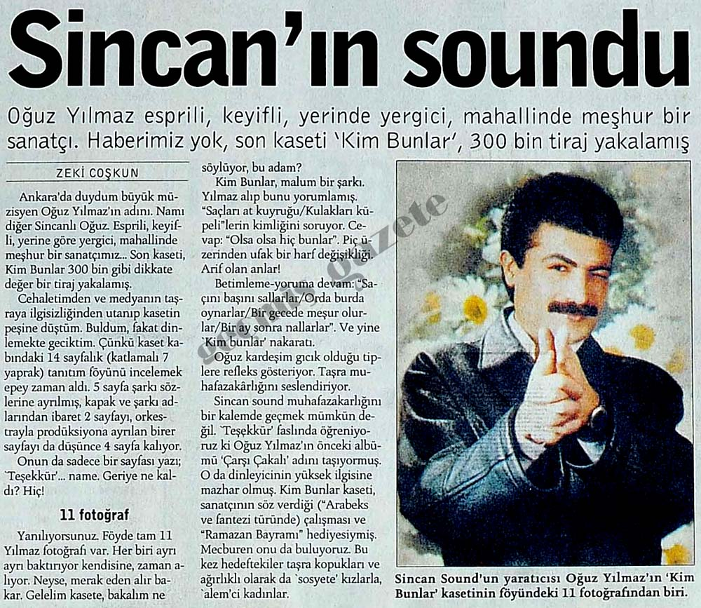 Sincan'ın soundu
