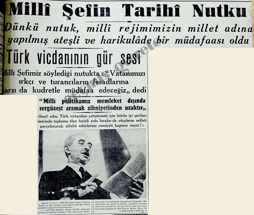 Türk vicdanının gür sesi