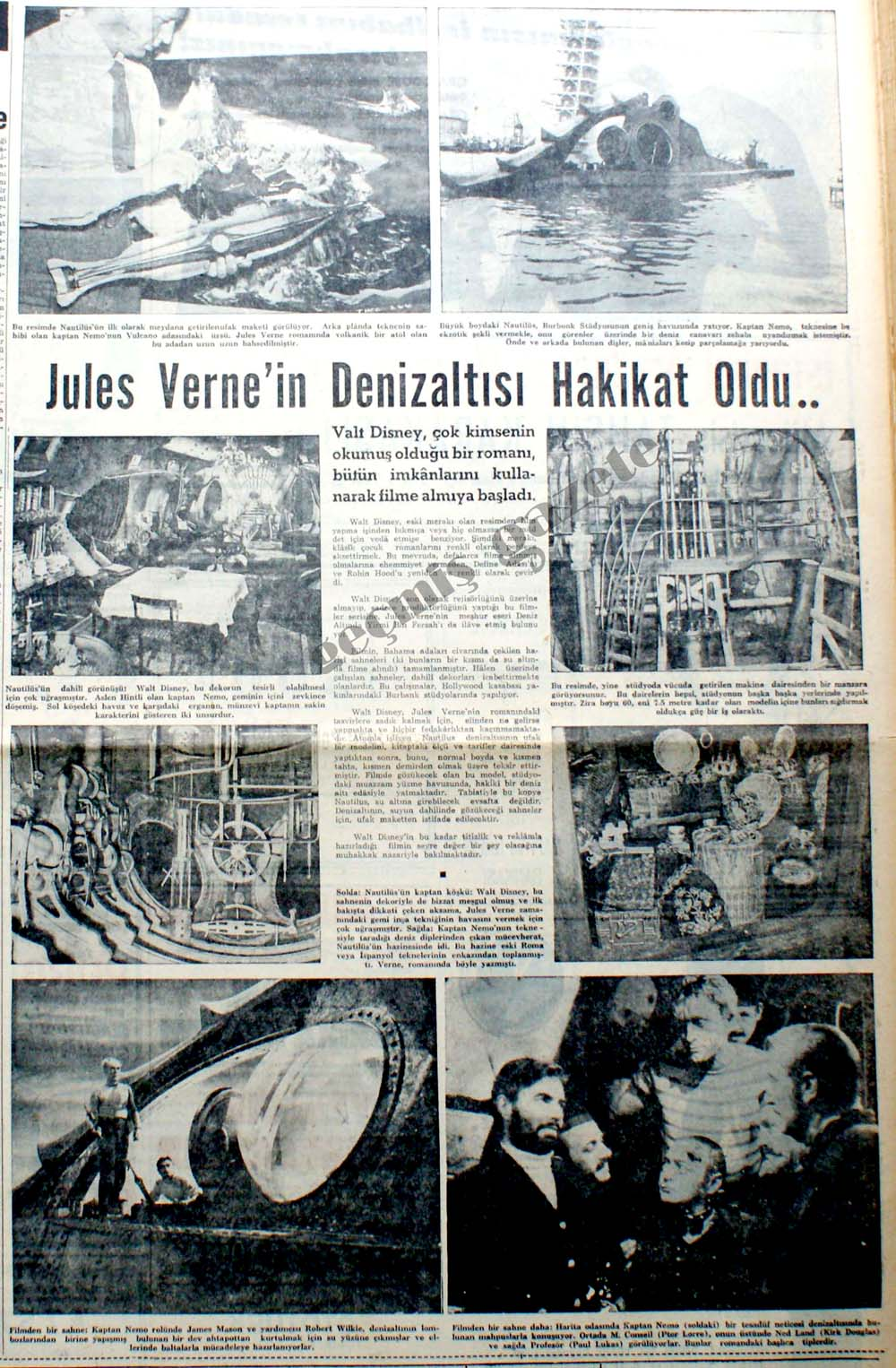 Jules Verne'in Denizaltısı Hakikat Oldu