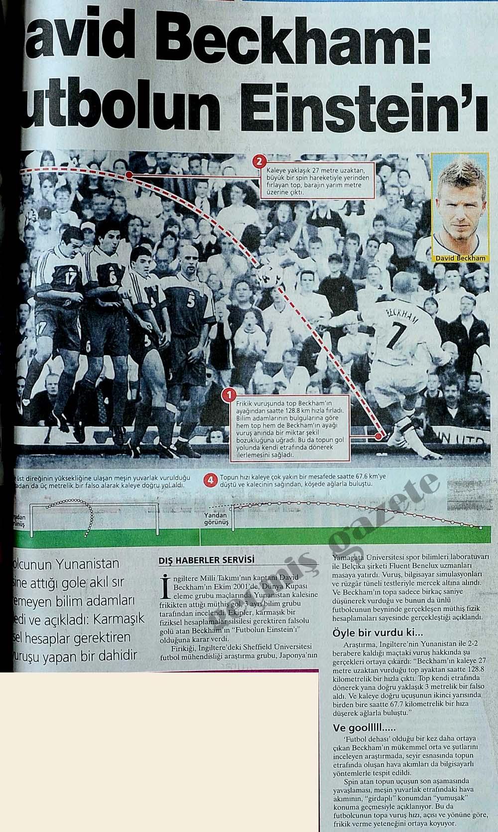 David Beckham: Futbolun Einstein'ı