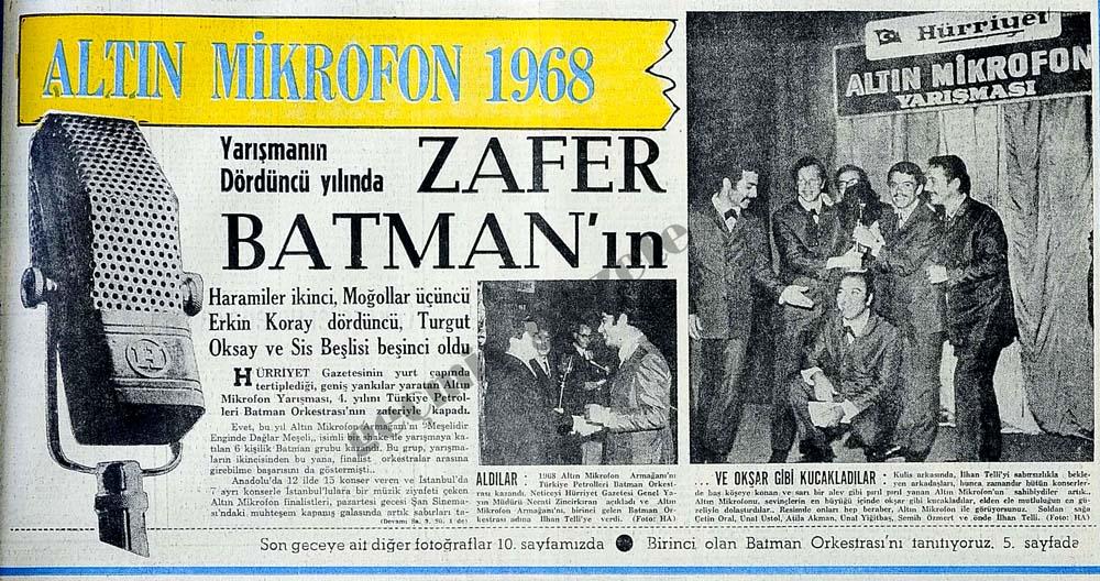 Zafer Batman'ın