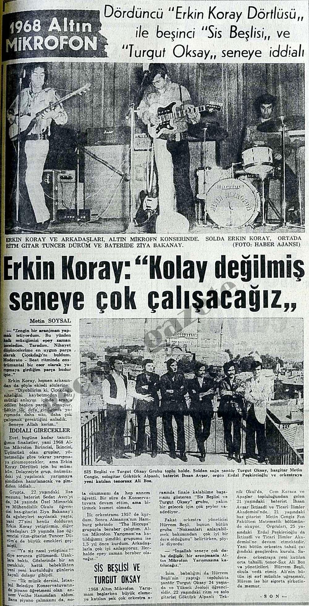 """Erkin Koray: """"Kolay değilmiş seneye çok çalışacağız"""""""