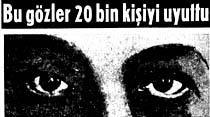 Bir ipnotizmacı, 20 bin kişiyi televizyonda kendinden geçirdi