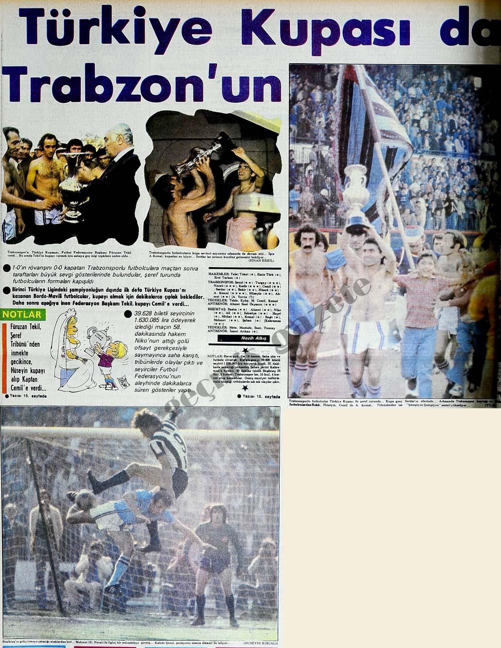 Türkiye Kupası da Trabzon'un
