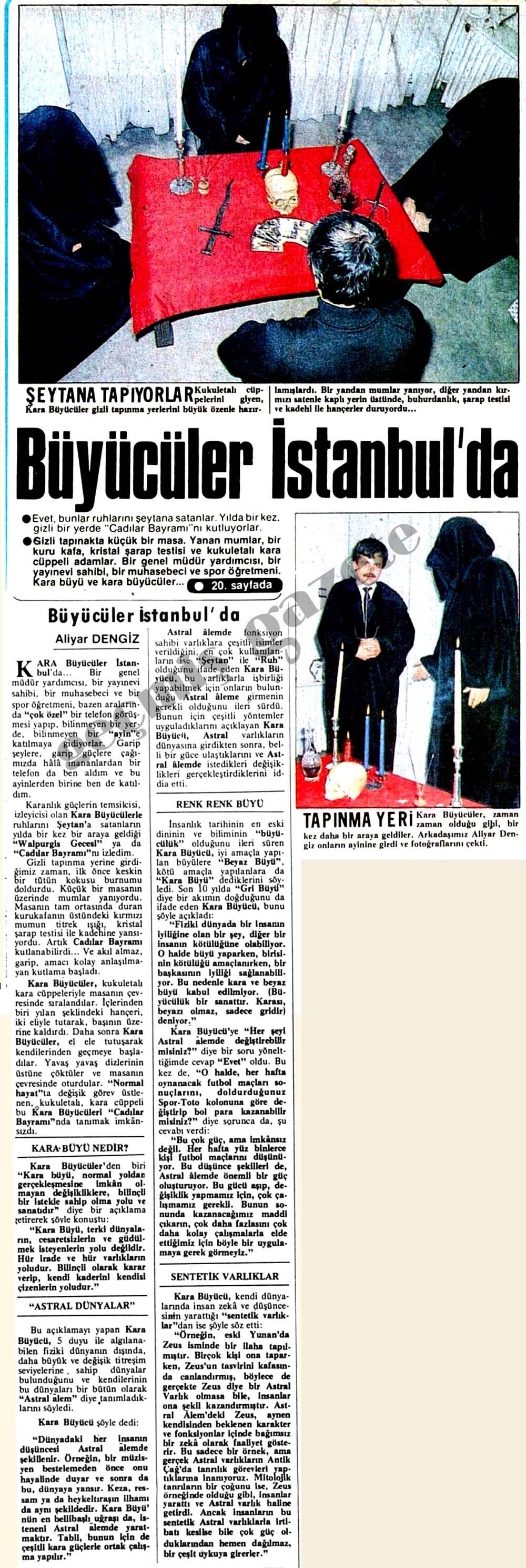 Büyücüler İstanbul'da