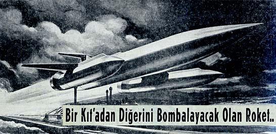 Bir Kıt'adan Diğerini Bombalayacak Olan Roket..