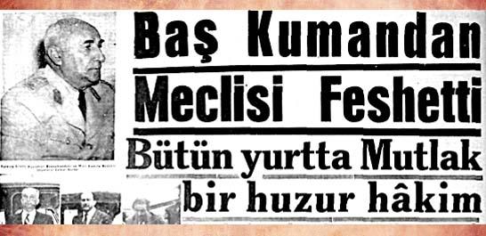 Baş Kumandan Meclisi Feshetti