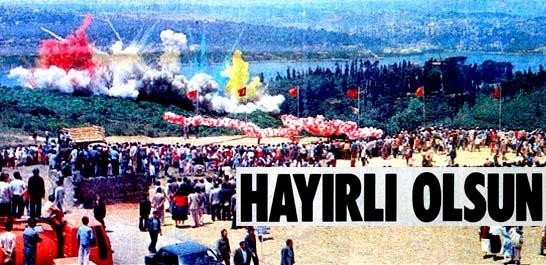 Fetih Günü'nde, Fatih Köprüsü'nün temelini attık