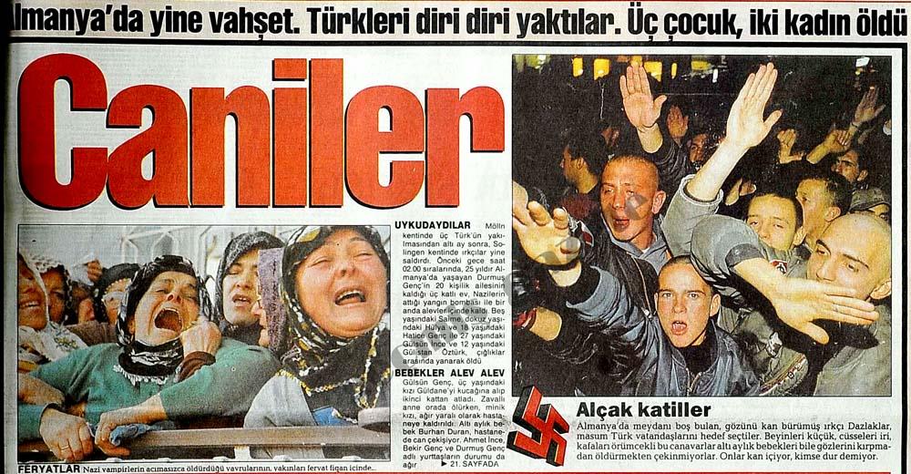 Türkleri diri diri yaktılar