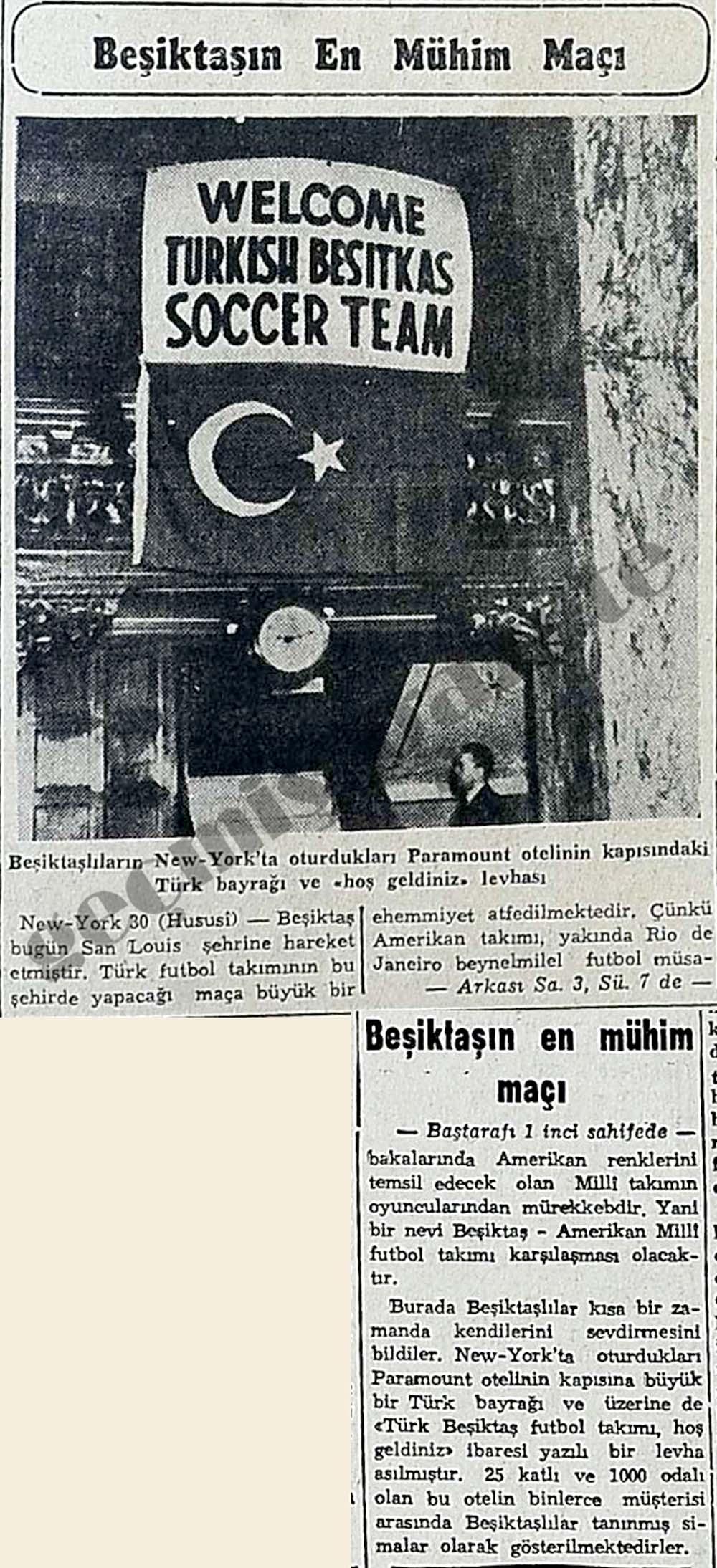 Beşiktaşın En Mühim Maçı
