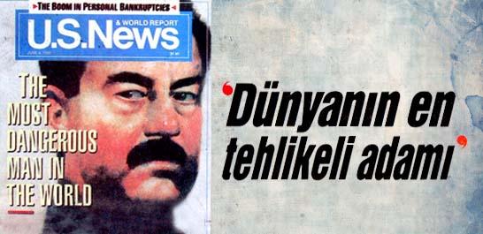 Amerikan dergisi, Saddam'ı yerden yere vurdu