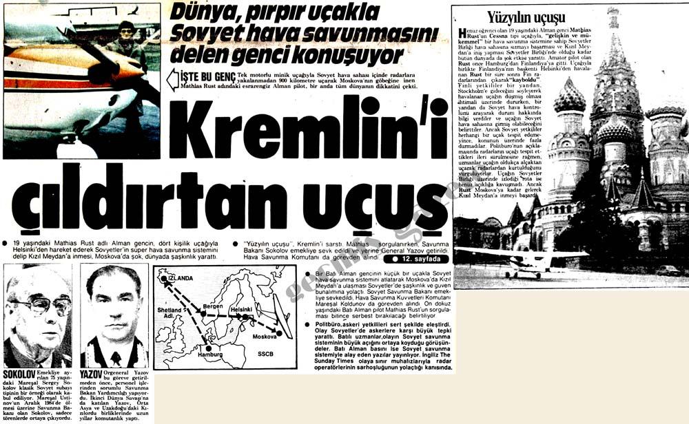 Kremlin'i çıldırtan uçuş