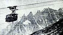 Dağlara çıkmak için yeni bir nakliye vasıtası