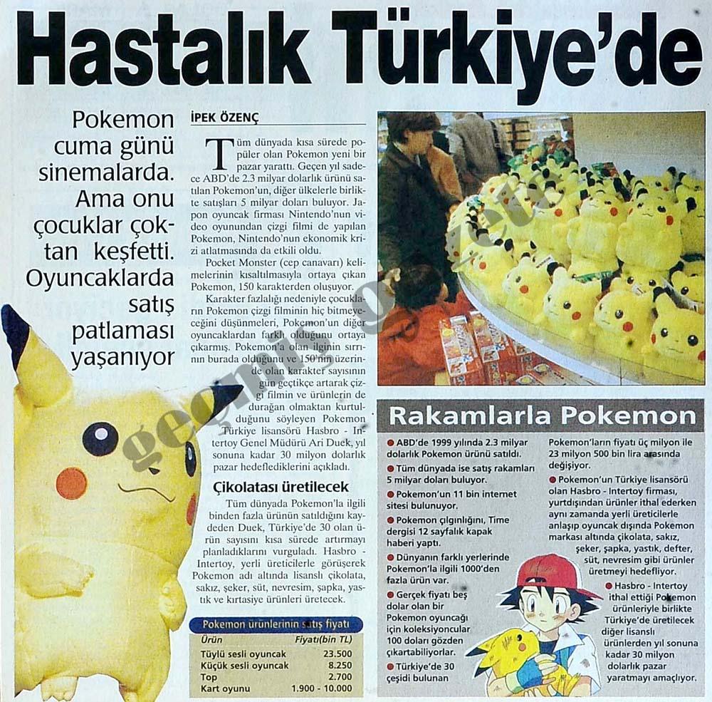 Hastalık Türkiye'de