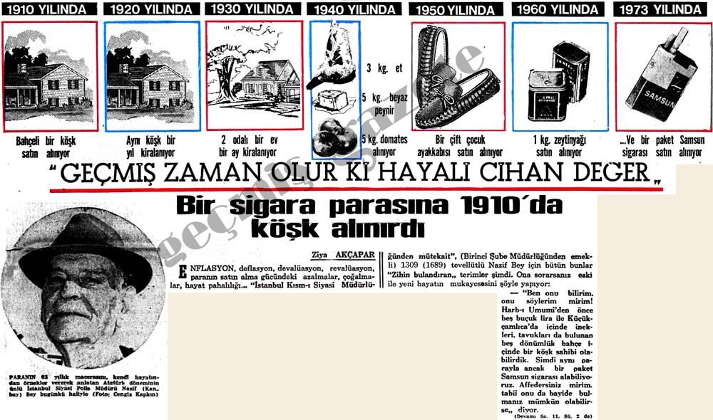 Bir sigara parasına 1910'da köşk alınırdı