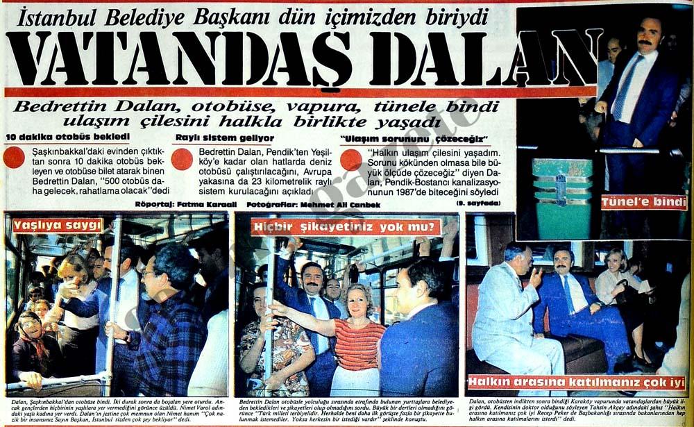 İstanbul Belediye Başkanı içimizden biriydi