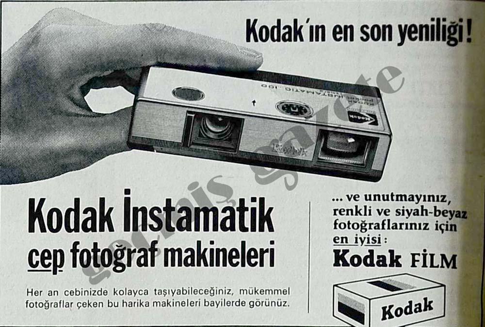 Kodak İnstamatik cep fotoğraf makineleri