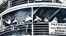 Medeni kıyafeti kabul etmek istemiyen erkekli dişili birçok rahib dün İstanbuldan ayrıldı