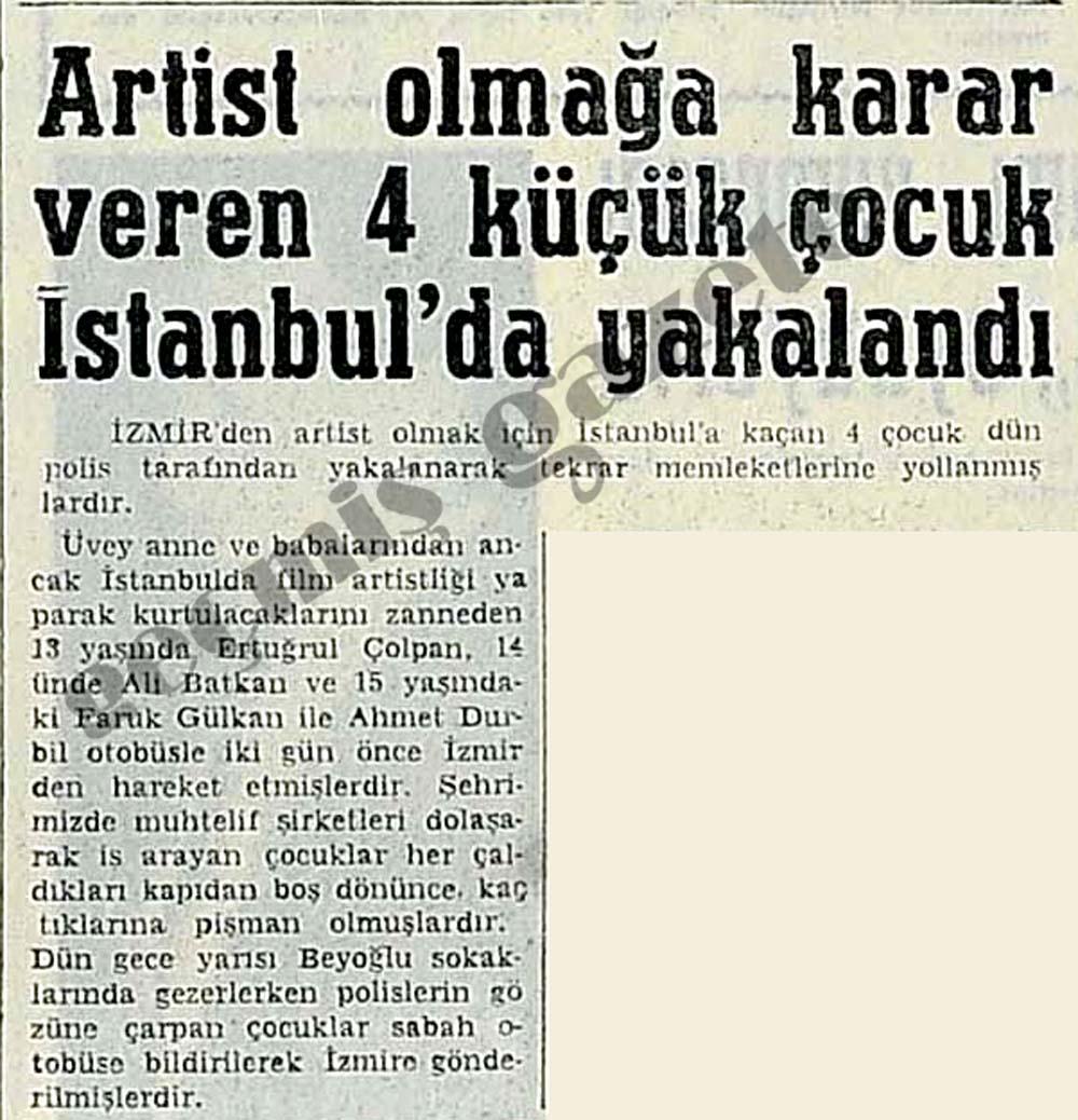 Artist olmağa karar veren 4 küçük çocuk İstanbul'da yakalandı