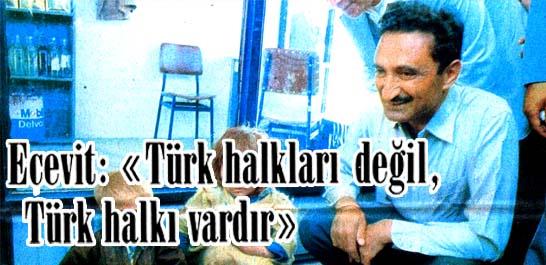 """""""Türk halkları değil, Türk halkı vardır"""""""