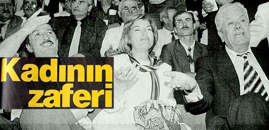 Ve ilk kadın başbakan