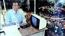 Bilgisayar çiçekçiye girdi