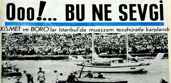 İstanbul'un kalbi Boro'lar için çarptı