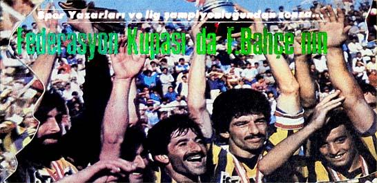 Federasyon Kupası da F.Bahçe'nin...