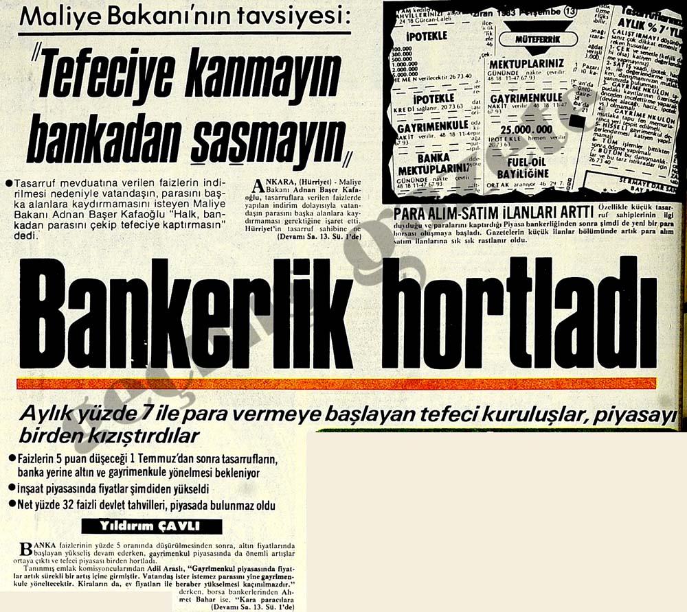 """Maliye Bakanı'nın tavsiyesi: """"Tefeciye kanmayın bankadan şaşmayın"""""""