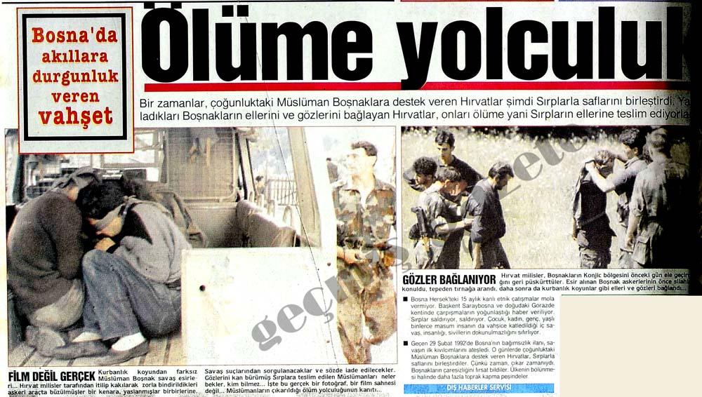Bosna'da akıllara durgunluk veren vahşet