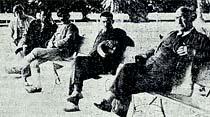 Sultan Ahmet parkında..