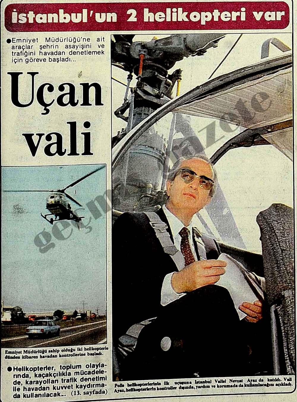 İstanbul'un 2 helipoteri var