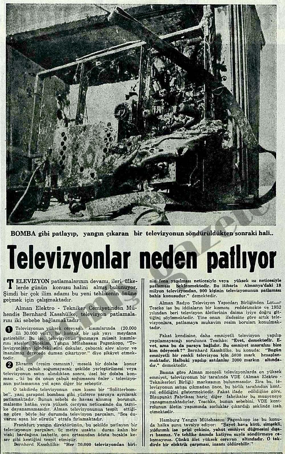 Televizyonlar neden patlıyor