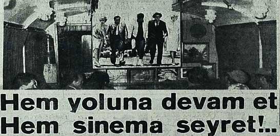 Sirkeci-Edirne trenlerine sinema vagonu takıldı