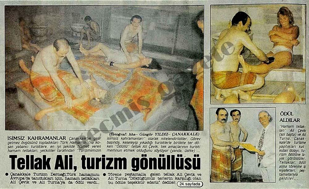Tellak Ali, turizm gönüllüsü