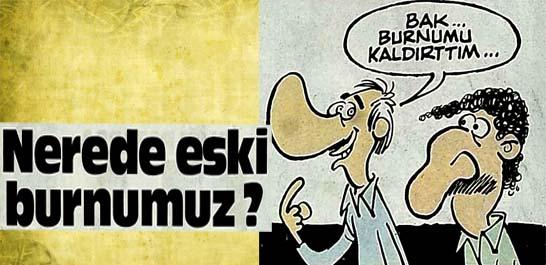 Türk ırkına özgü biçimi değişti, kemerli hale geldi
