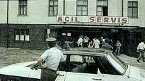 """""""Ülkücü"""" eski polis, silahlı olarak Kartal'ın odasına girerken yakalandı"""