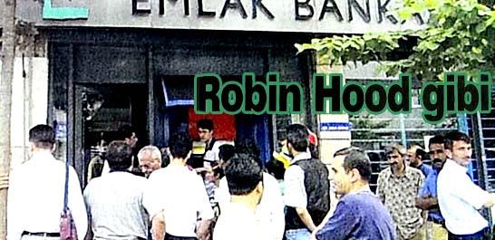 Bankanın parasını halka dağıttı