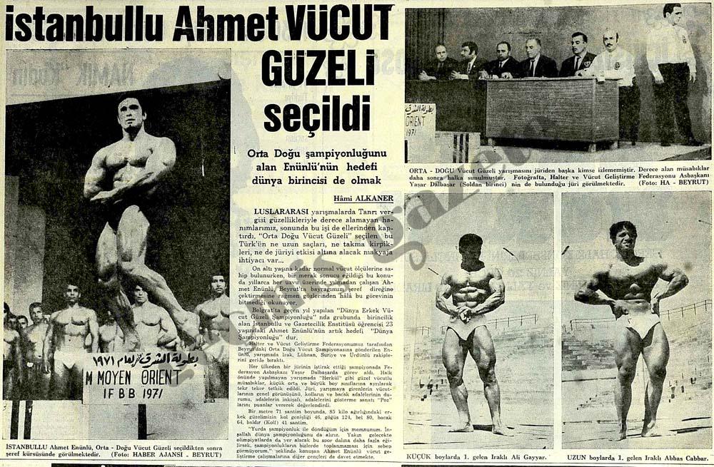 Ahmet Vücut Güzeli