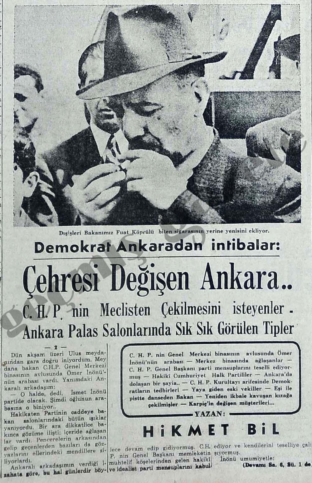 Demokrat Ankaradan intibalar: Çehresi Değişen Ankara..