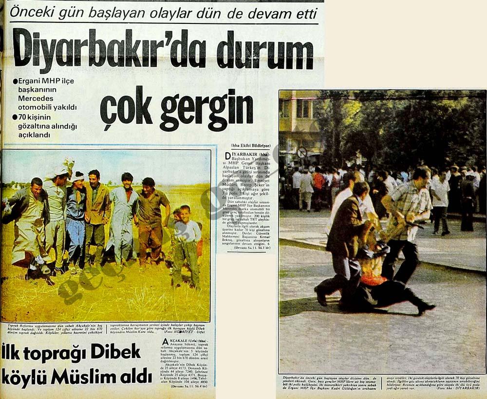 Diyarbakır'da durum çok gergin