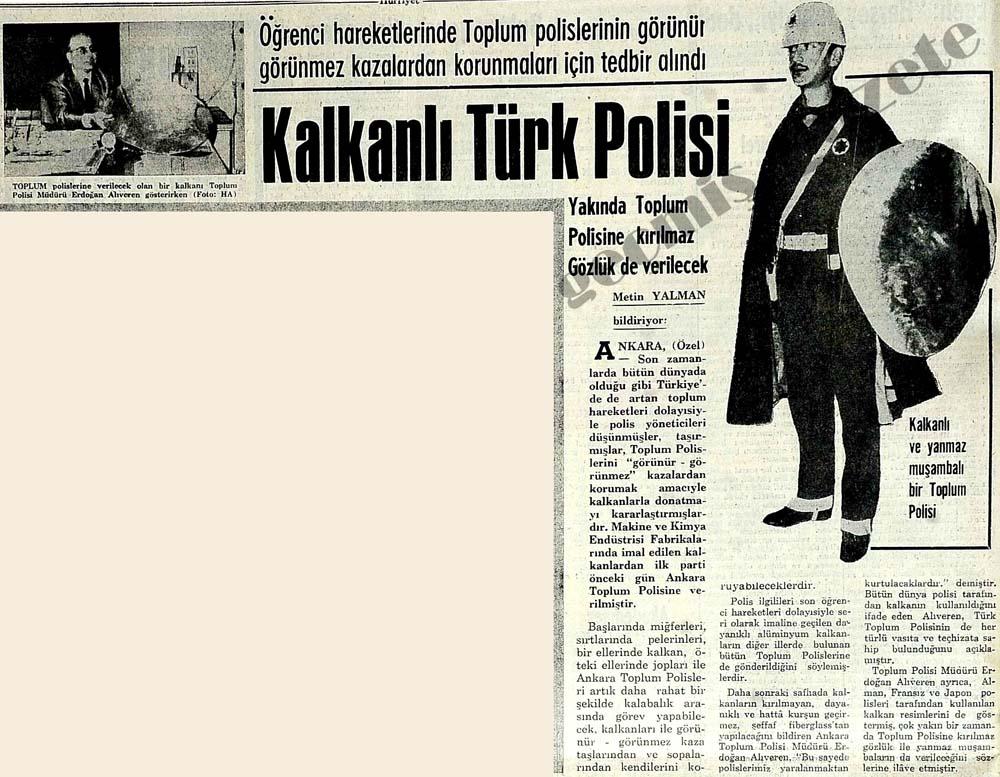 Kalkanlı Türk Polisi